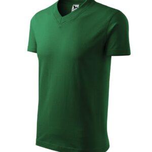 V-neck pólók unisex 102 (160g)