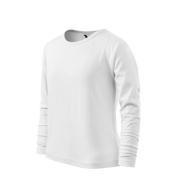 Adlerpóló fehér Gyerek Póló - MALFINI Long Sleeve pólók gyerek