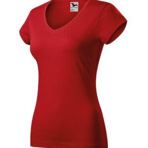 Fit V-neck pólók női 162 (180g)