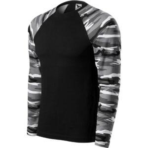 Camouflage LS pólók unisex 166 (160g)