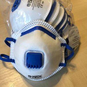 Azonnal rendelhető – Légzésvédő maszk FFP2